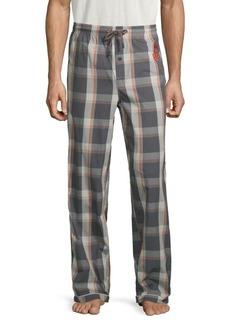 Psycho Bunny Plaid Pajama Pants