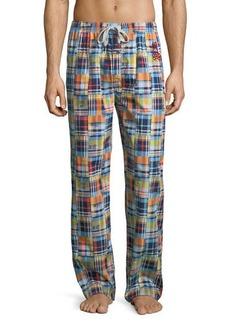 Psycho Bunny Print Woven Lounge Pants