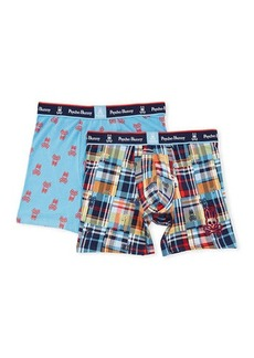 Psycho Bunny Printed Boxer Brief Set