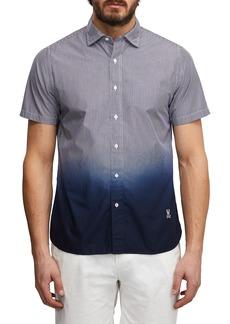Psycho Bunny Bethells Dip Dyed Stripe Sport Shirt