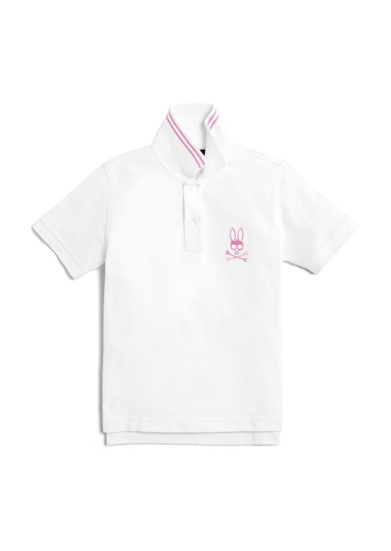 Psycho Bunny Boys' Tall Bunny Polo Shirt - Sizes XXS-L