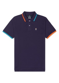 Psycho Bunny Brookshank Tipped Short Sleeve Polo