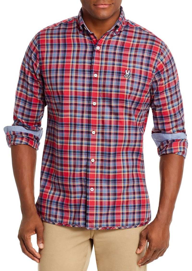 Psycho Bunny Checked Classic Fit Shirt