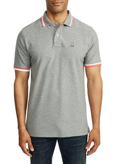 Psycho Bunny Chestnut Tipped Piqué Polo