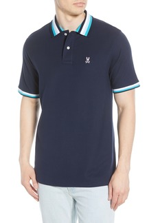 Psycho Bunny Coniston Tipped Piqué Polo