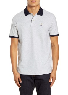 Psycho Bunny Contrast Collar Classic Polo