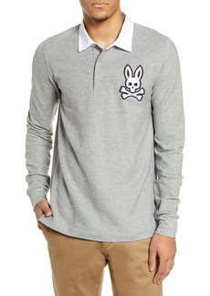 Psycho Bunny Derby Long Sleeve Polo