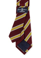 Psycho Bunny Diagonal-Stripe Woven Tie