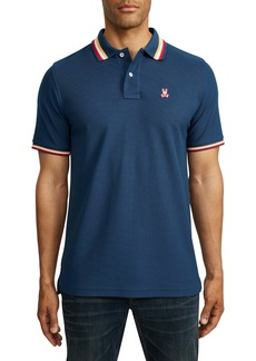 Psycho Bunny Erindale Tipped Piqué Polo