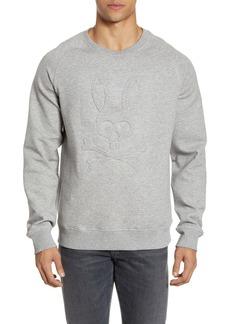 Psycho Bunny Folgate Embossed Crewneck Sweatshirt