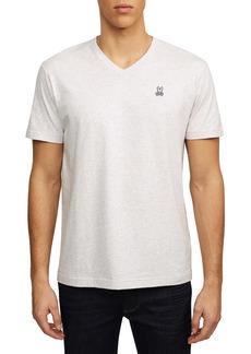 Psycho Bunny Heathered V-Neck T-Shirt