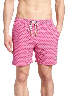 Psycho Bunny Japanese Honeycomb Swim Trunks