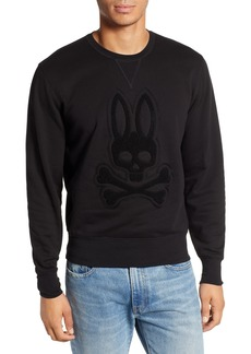 Psycho Bunny Loop Embroidered Logo Sweatshirt