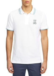 Psycho Bunny Paget Tipped Short Sleeve Piqué Polo
