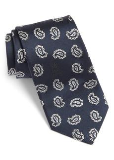 Psycho Bunny Paisley Bunny Silk Tie