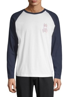 Psycho Bunny Pima Cotton Baseball T-Shirt