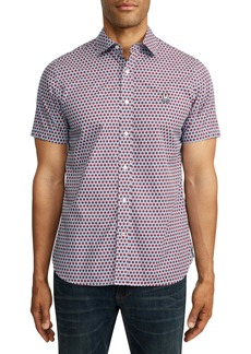 Psycho Bunny Shadwell Short Sleeve Button-Up Shirt