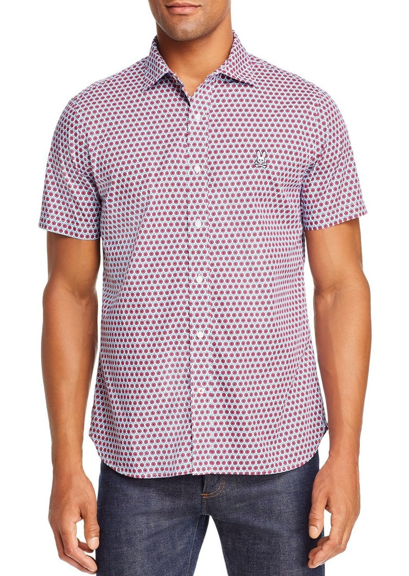Psycho Bunny Short Sleeve Classic Fit Printed Shirt