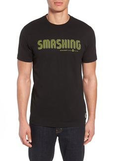 Psycho Bunny Smashing Graphic T-Shirt