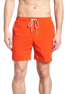 Psycho Bunny Solid Swim Shorts