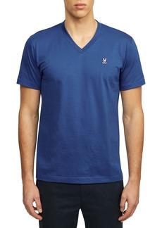 Psycho Bunny Solid V-Neck T-Shirt
