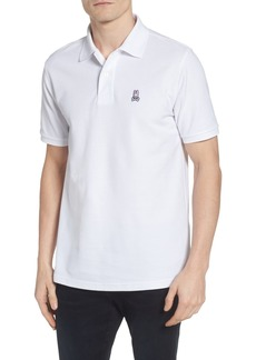 Psycho Bunny The Classic Slim Fit Piqué Polo