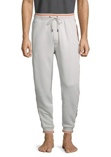 Psycho Bunny Robert Godley Drawstring Cotton-Blend Jogger Pants