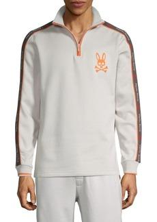Psycho Bunny Robert Godley Logo Cotton-Blend Sweatshirt