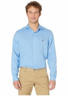 Psycho Bunny Styford Long Sleeve Linen Shirt