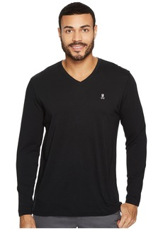 Psycho Bunny V-Neck Long Sleeve T-Shirt
