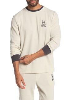 Psycho Bunny Waffle Knit Bunny Crew Neck T-Shirt