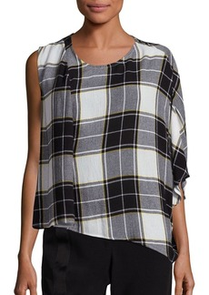 Public School Aloran Plaid Top