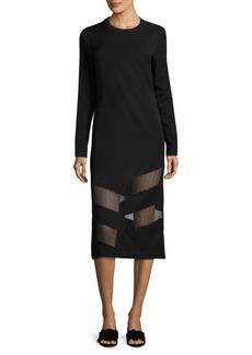 Public School Elsi Sheer Paneled Dress