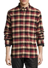 Public School Leto Plaid Flannel Shirt