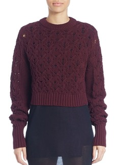 Public School Long Sleeve Seed Stitched Sweater