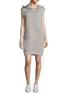 Public School Loren Cotton French Terry Hooded Dress