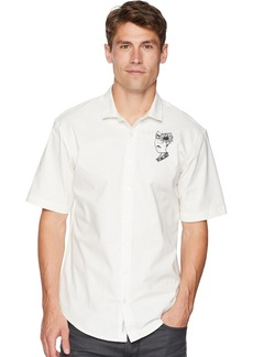 Publish Brand INC. Men's Gilbert-Slubbed Stretch Button Up Woven Shirt