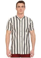 Publish Brand INC. Men's Kenzie Stripe Short Sleeve Button Down Shirt