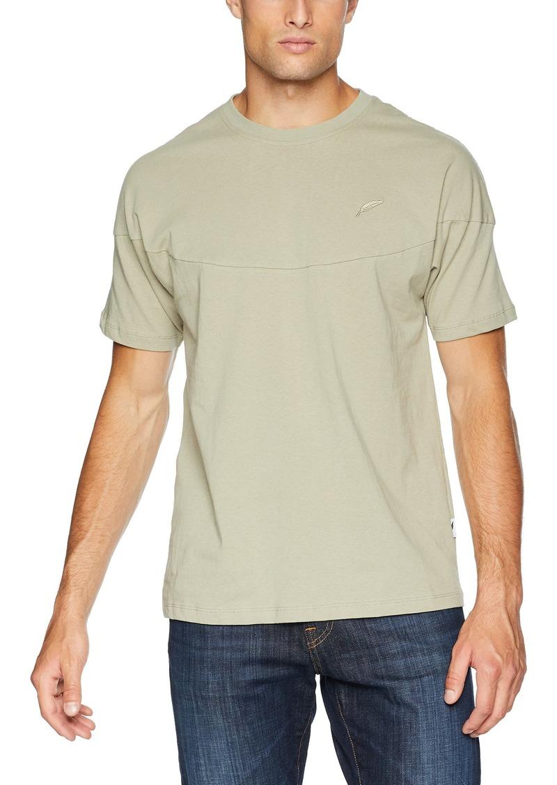 Publish Brand INC. Men's Vic-Short Sleeve Shirt Unique Front and Back Yolk kelp