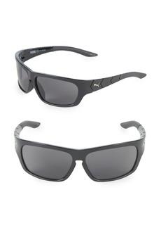 Puma 59MM Wrap Sunglasses