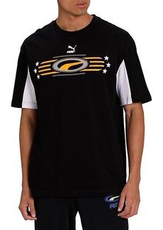 Puma 90's Retro Graphic Cotton T-Shirt