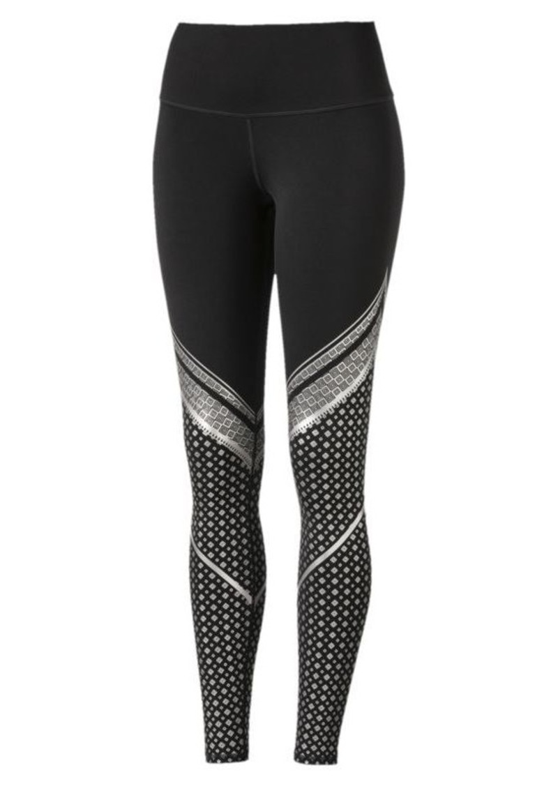 d0a12de8cf657 Puma Active Training Women's Everyday Train Graphic Tights | Casual ...