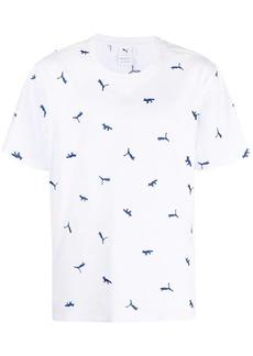 Puma all-over logo T-shirt