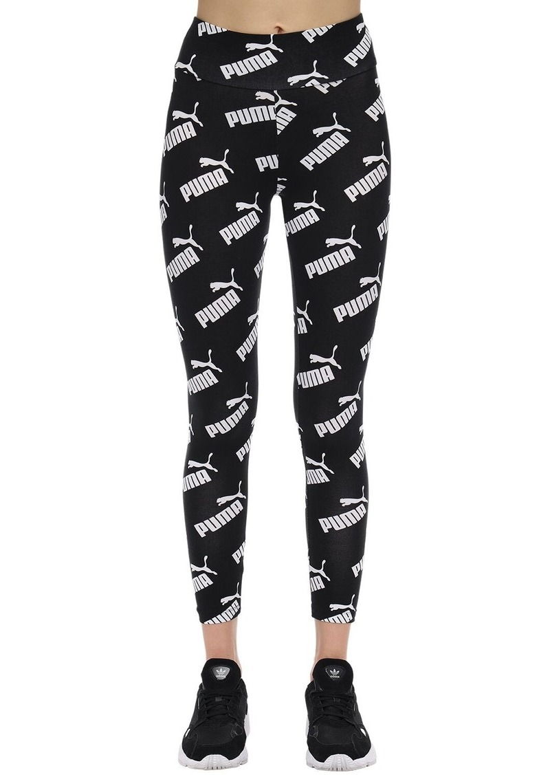 Puma All Over Print Amplified Aop Leggings
