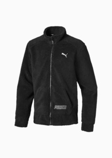 Puma Alpha Boys' Sherpa Jacket JR
