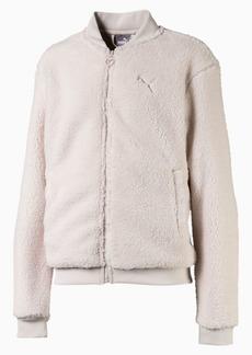 Puma Alpha Girls' Sherpa Jacket JR