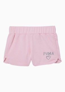 Puma Alpha Little Kids' French Terry Shorts