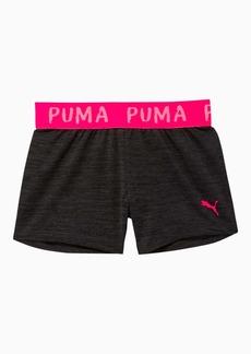 Puma Alpha Little Kids' Space-Dyed Jacquard Waistband Shorts