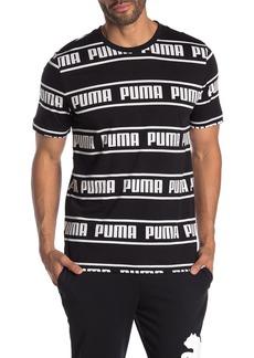Puma Amplified Allover Logo T-Shirt