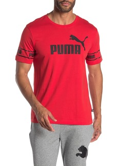 Puma Amplified Big Logo T-Shirt